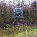 Glas in lood tuinobject