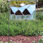 glas-in-lood tuinobject Bergen